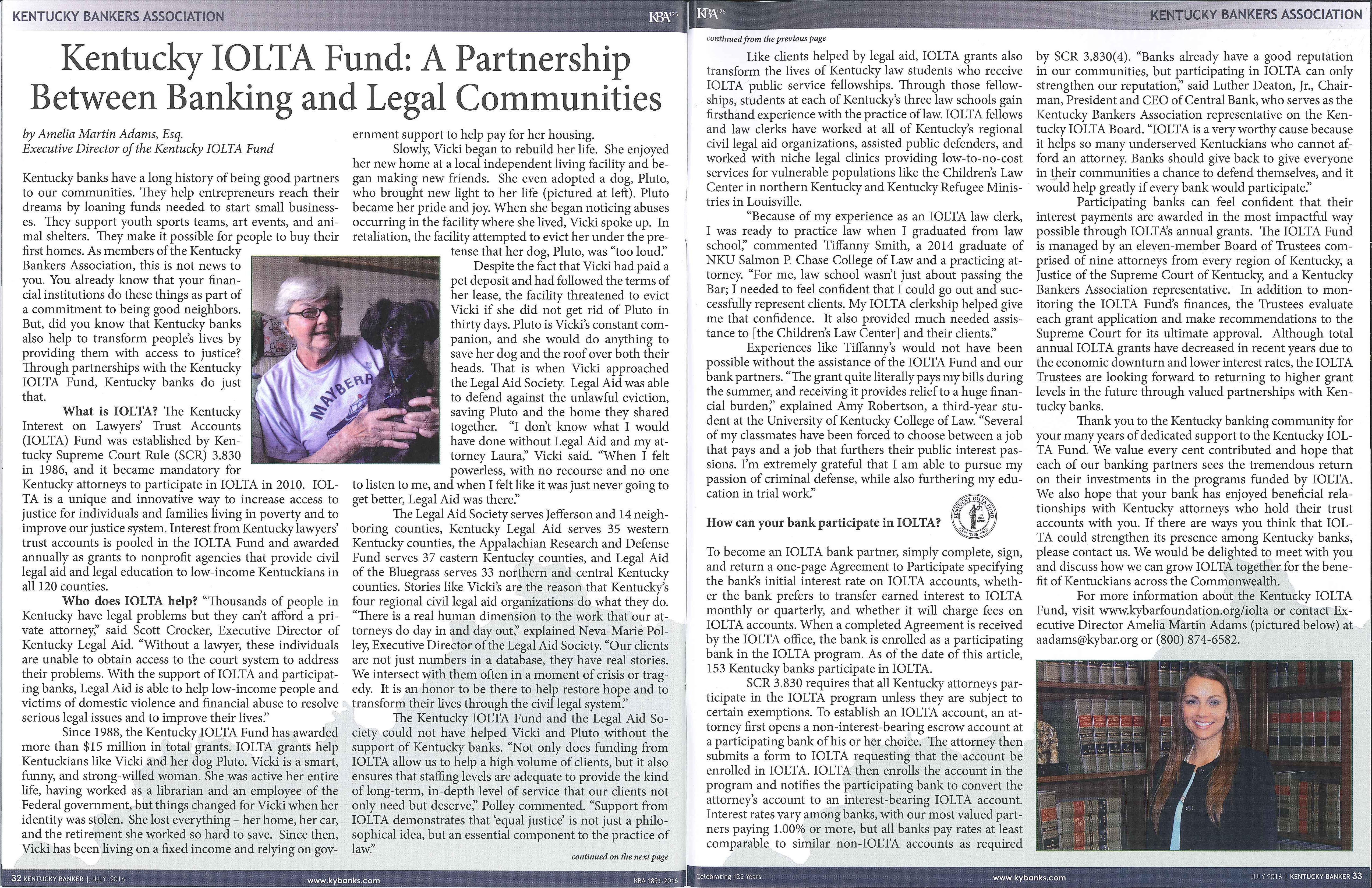 KBA article